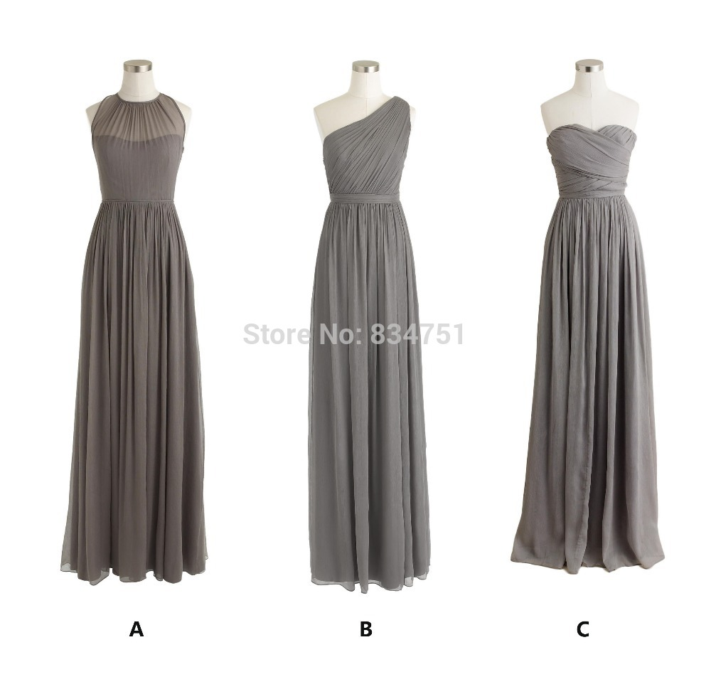 Bridesmaids dresses to hire cape town bridezar charcoal grey seires full length lon1 ombrellifo Image collections